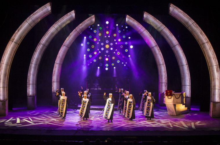 Sister Act Performers Hail Robe Lighting Essential Install