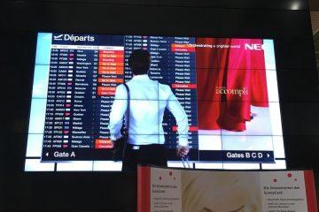 NEC MultiSync videowall
