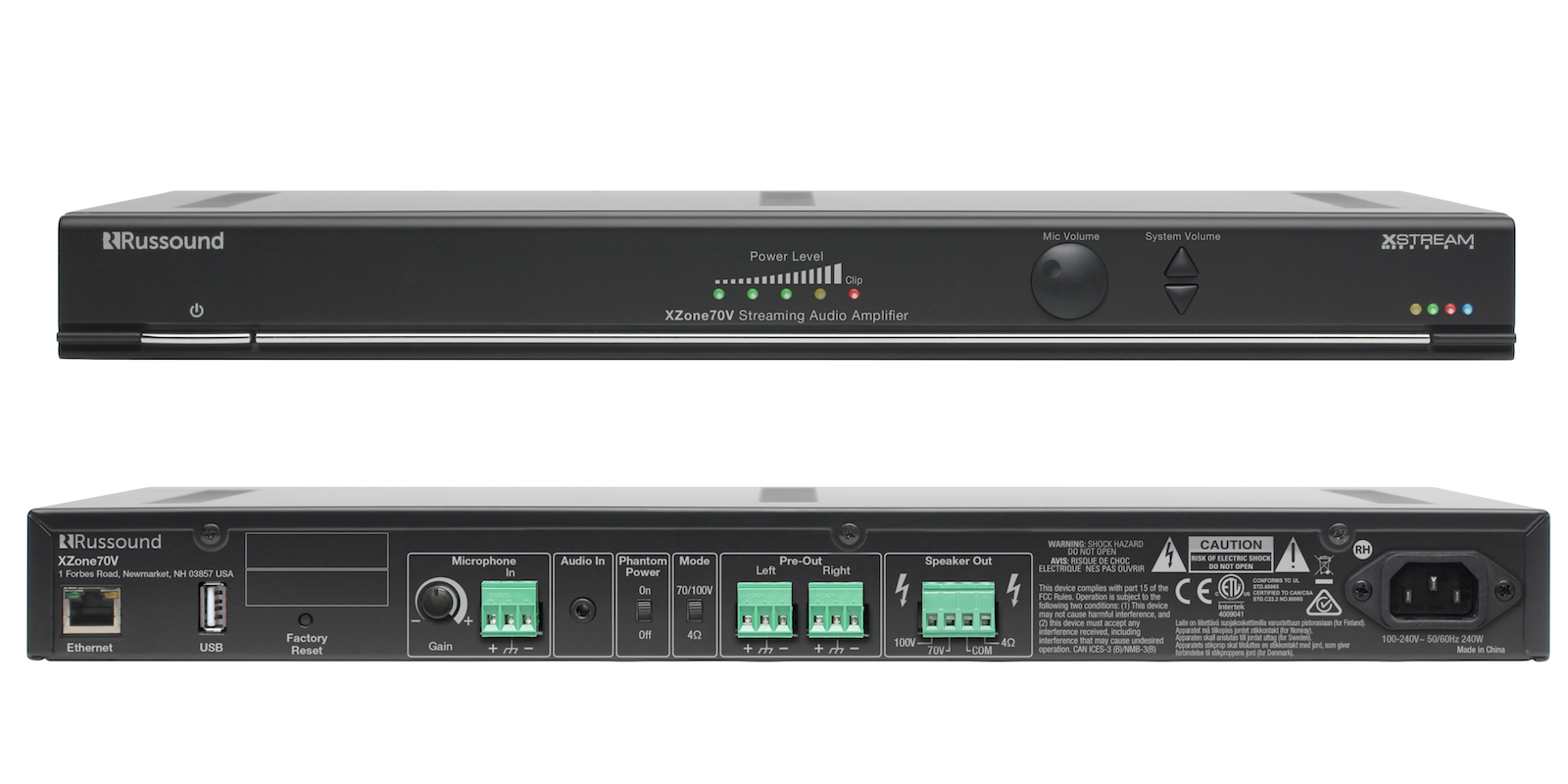 Connected Distribution Begins Shipping Russound Xzone70v Volume Control