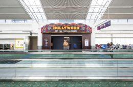 Oregon Airport custom movie theatre