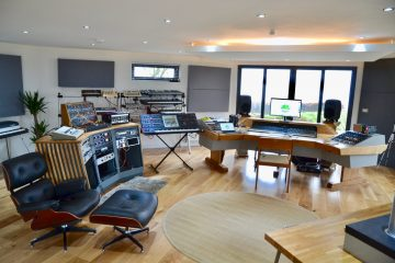 Devon Analogue Studio Genelec Monitors