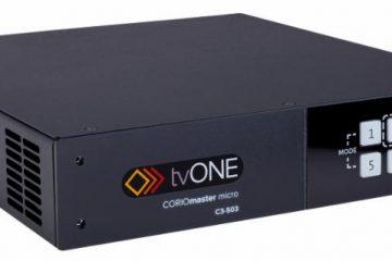 tvONE Ships C3-503 Video Wall Processor
