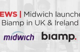 Midwich Distributes Biamp Across UK And Ireland