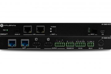 Atlona Ships New Versatile Omega Scaling Receiver