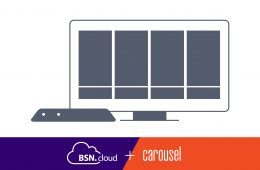 Carousel Digital Signage Integrates With BrightSign's BSN.cloud