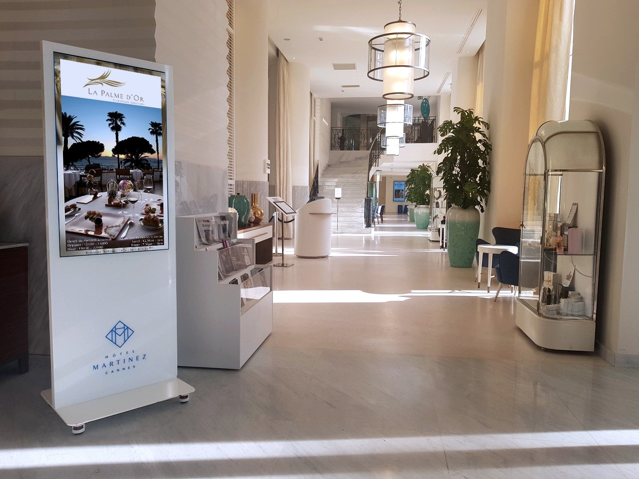 Luxury Cannes Hotel Gets All Inclusive Philips Digital Signage