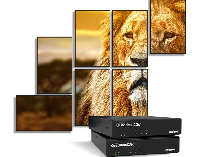 Matrox Ships QuadHead2Go Q155 Controller Appliance For Video Walls