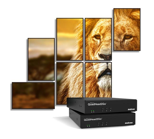 Matrox Ships QuadHead2Go Q155 Controller Appliance For Video Walls