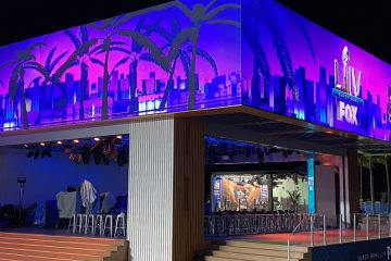 FOX Sports' South Beach Studio Gets A Disguise