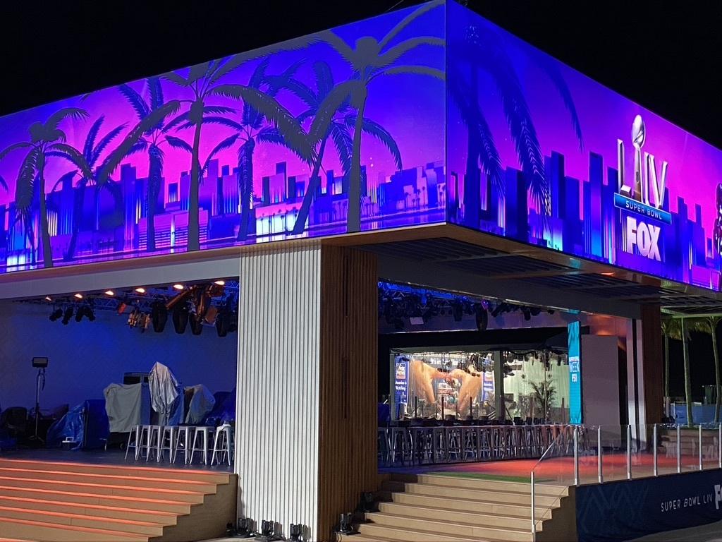 FOX Sports' South Beach Studio Gets A Disguise