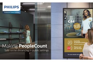 Philips Makes Social Distancing In Public Safe With New Digital Signage Solution