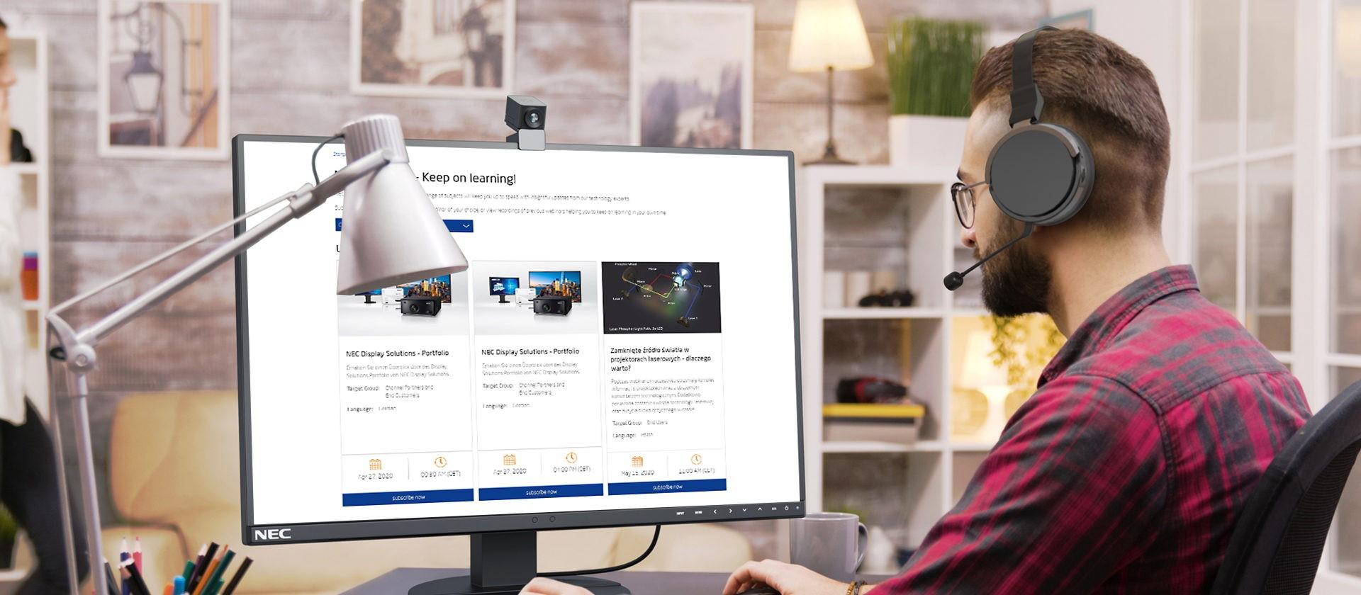 NEC Launches Free Webinar Portal