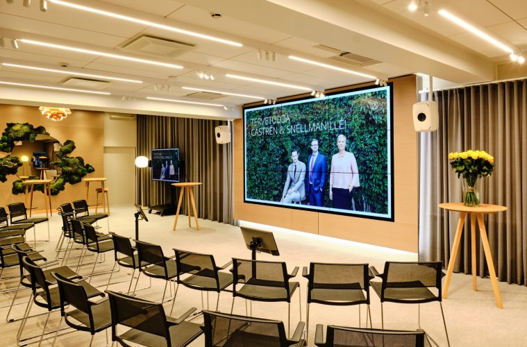 Genelec Keeps Law And Order In Finland