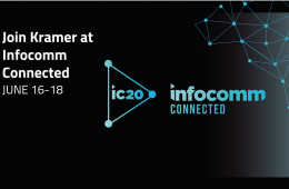 Kramer Goes Touchless At InfoComm Connected 2020