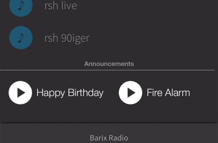 Barix Updates RetailPlayer Background Music Streaming System