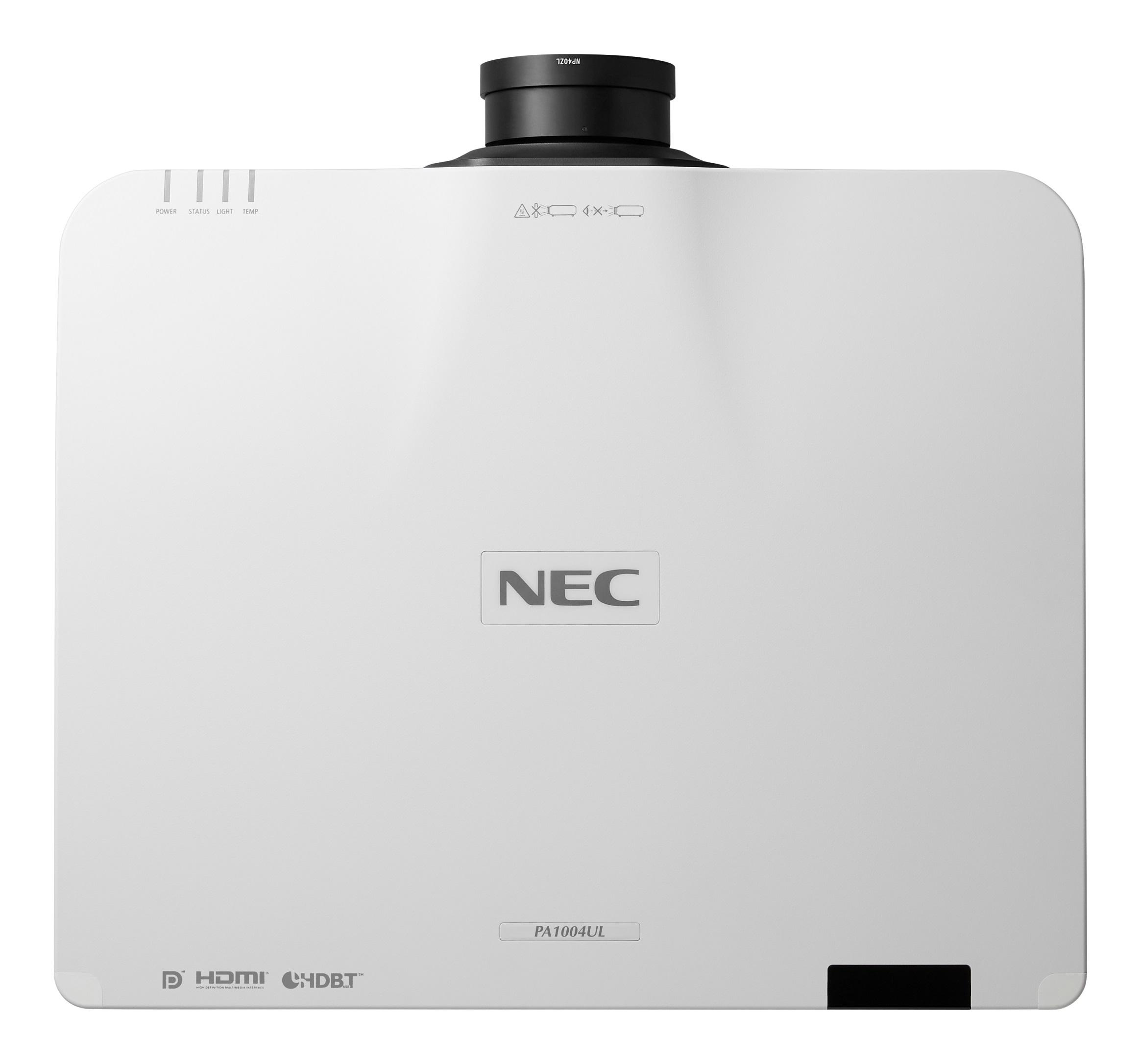 NEC Welcomes New Class Of Quiet Laser Projectors