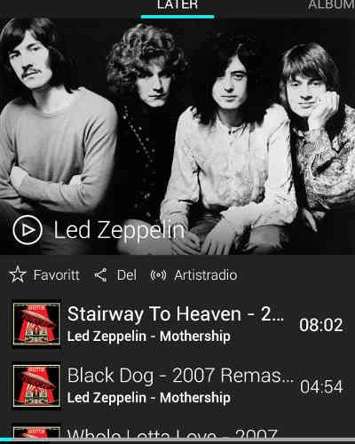 Led Zeppelin Back Catalogue Joins TIDAL - Essential Install