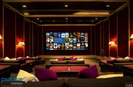 Pulse Cinemas Digital Projection