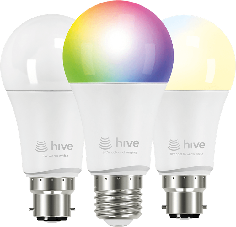 hive launches philips hue like smart bulbs essential install. Black Bedroom Furniture Sets. Home Design Ideas