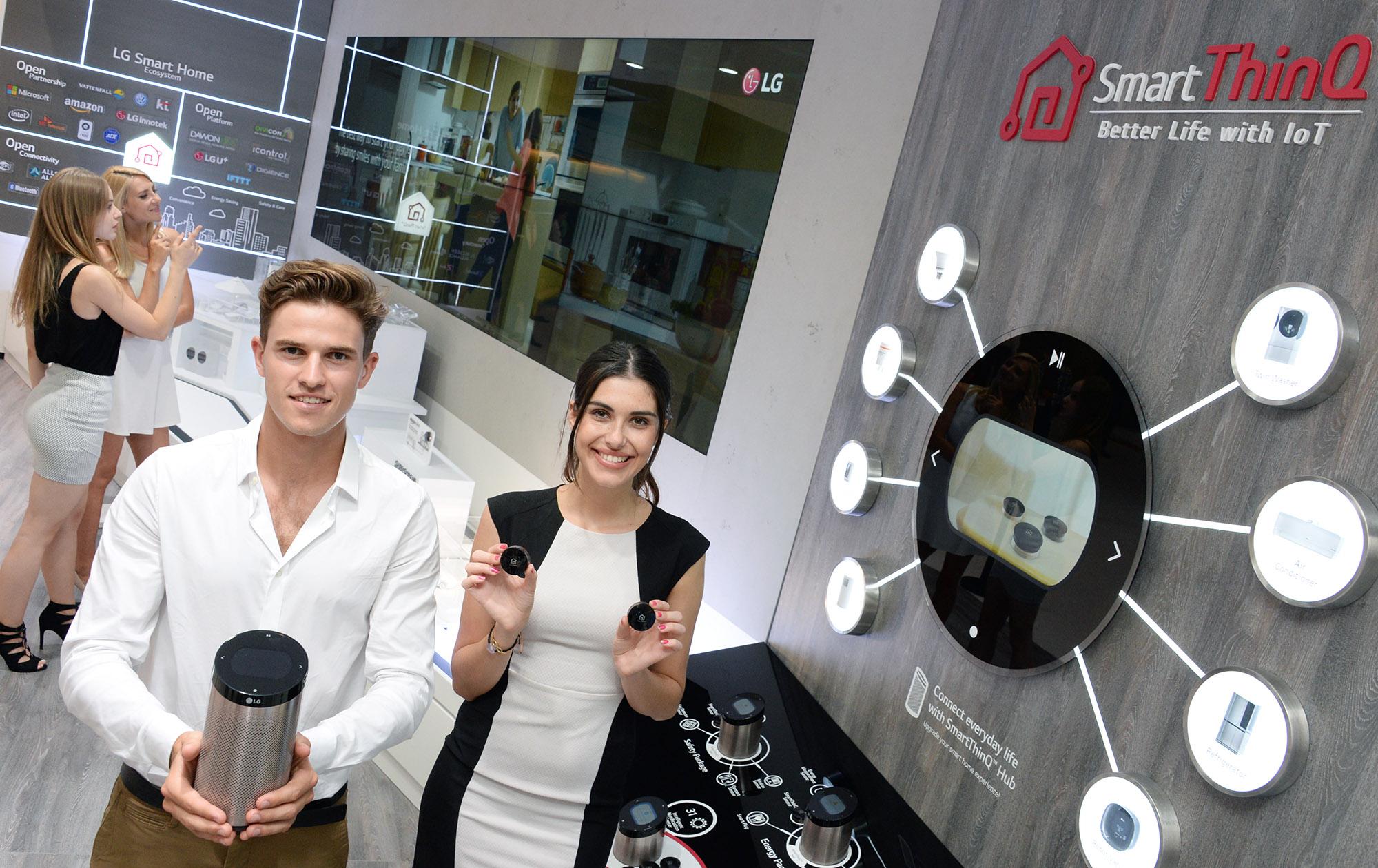 LG's SmartThinQ Hub Compatible With Amazon Alexa