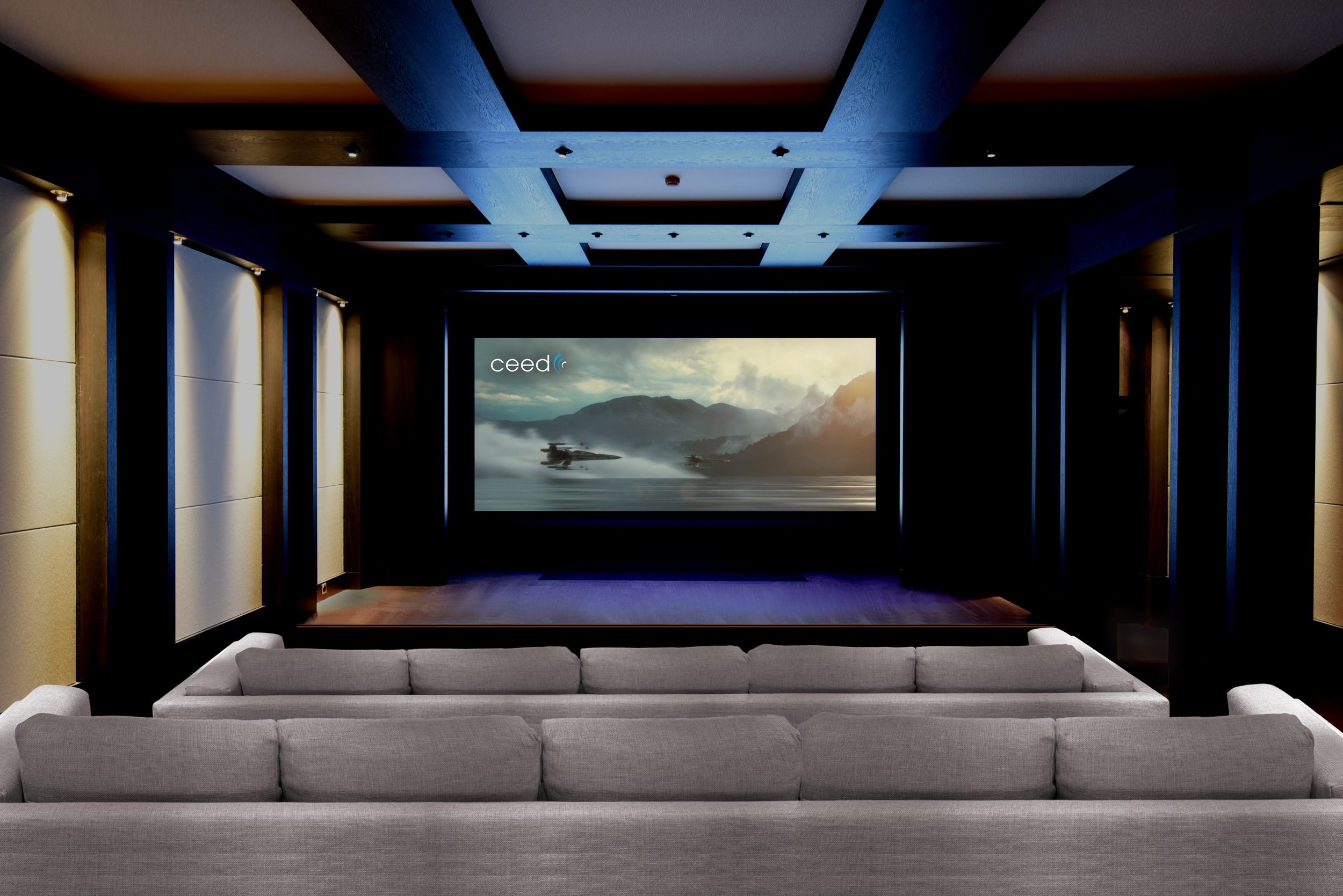 Barco Projector Installed In First Ever Private Day And Date Home Cinema