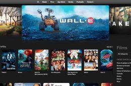 Apple iTunes Movie Store