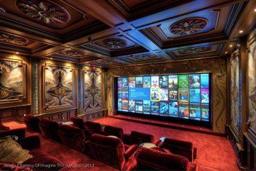 Imagine This custom home cinema install