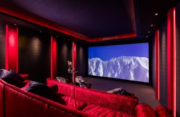 Cornflake Meyer Sound residential home cinema