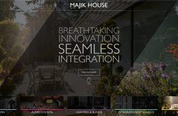 Majik House new website