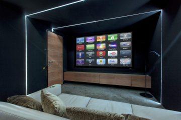 Andrew Lucas London home cinema