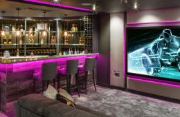 Finite Solutions Dolby Atmos basement cinema