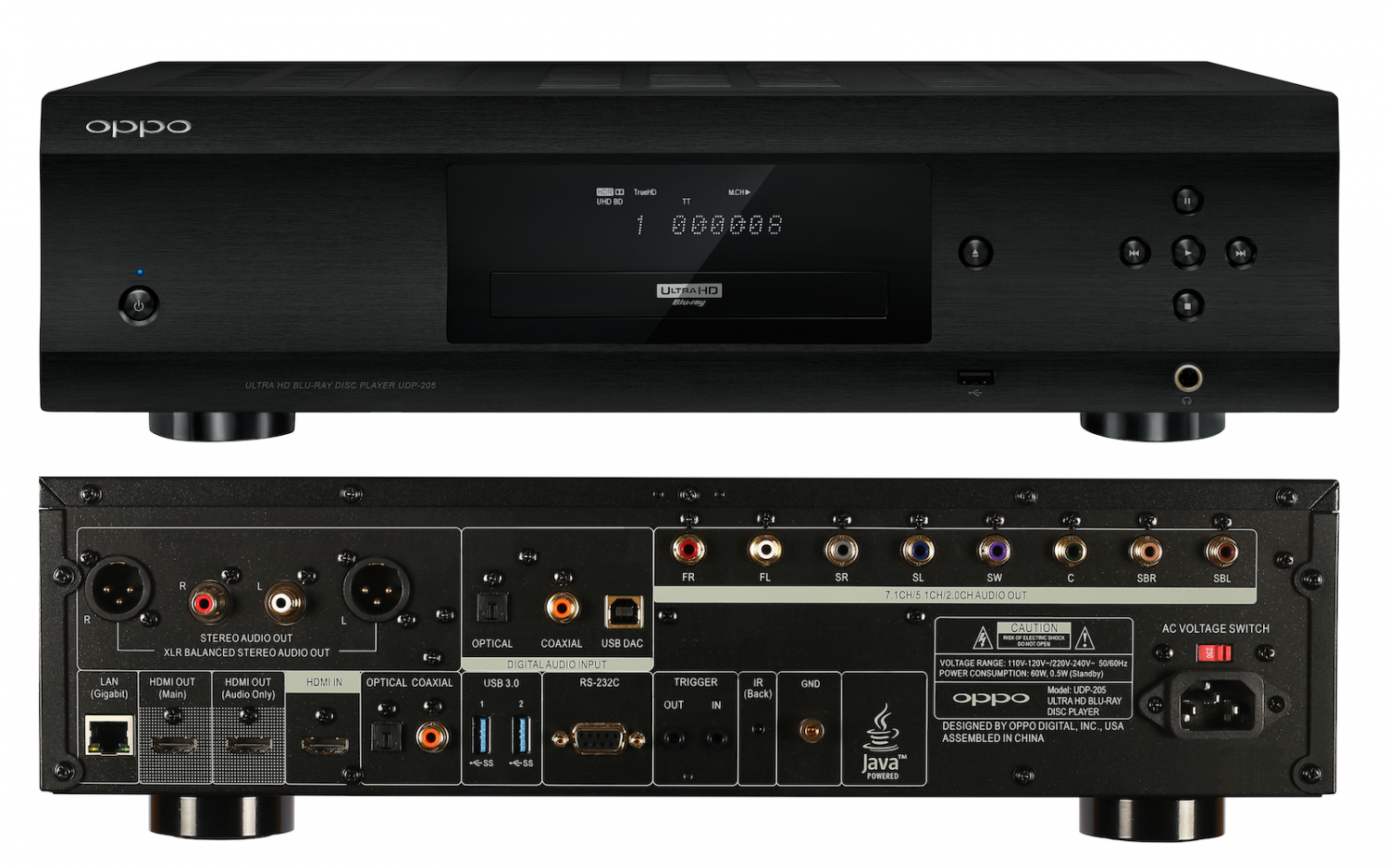 Oppo Releases Udp 205 Audiophile Universal Player
