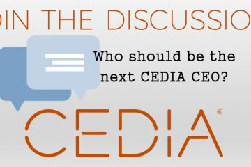 Who should be the next CEDIA CEO?