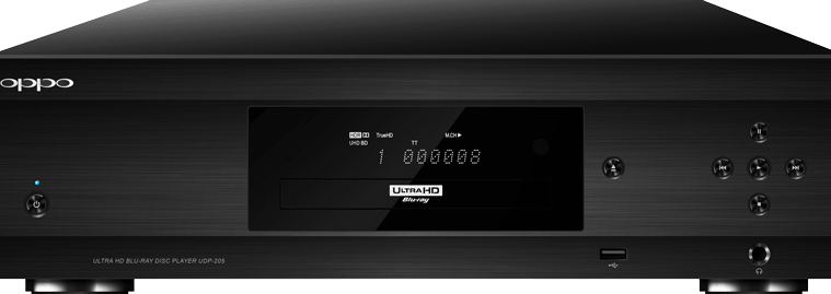 Dolby Vision Oppo UDP-203 and UDP-205 4K Blu-ray Players