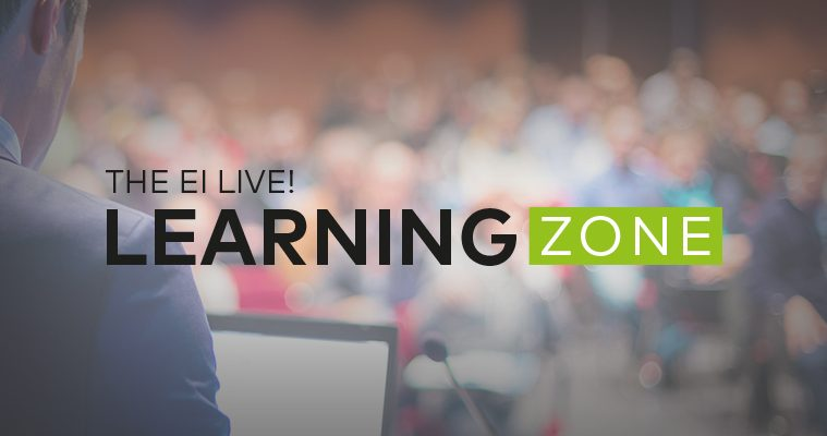 Ei Live! Learning zone