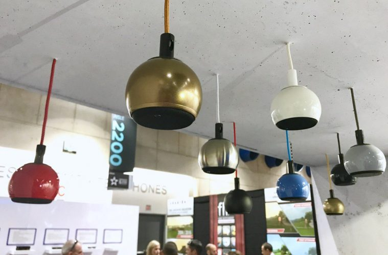 Gallo Acoustics Gives Uk Show Debut To Drop Pendant