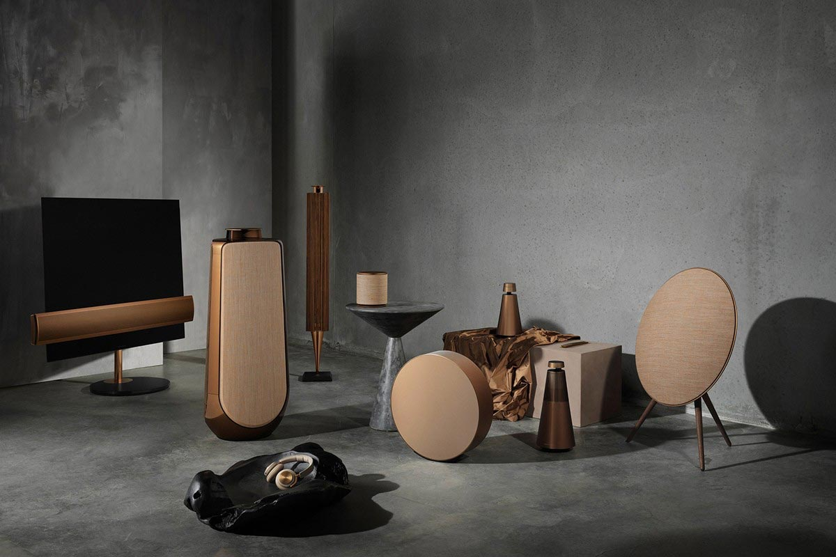 bang olufsen bronze collection adds beovision eclipse beolab 18 50. Black Bedroom Furniture Sets. Home Design Ideas
