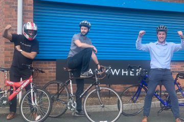 Charity bike ride