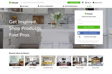 Houzz Study Reveals Percentage Of Technology Purchases