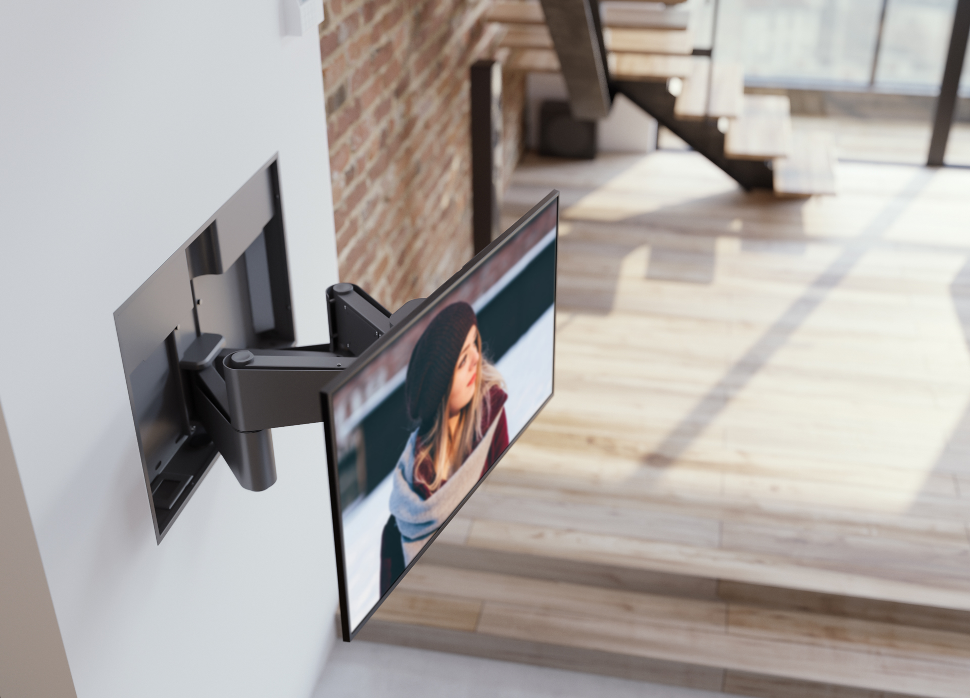 Nexus Motorised TV Wall Mount Available From Invision