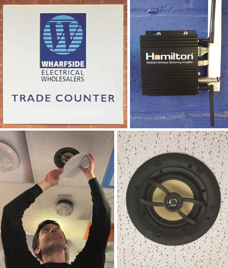 Hamilton's Wireless Audio System Installed In Wharfside Showroom