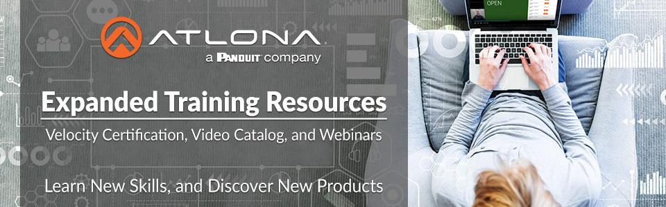 Atlona Updates Online Training Portal And Webinar Schedule