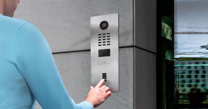 DoorBird IP Video Intercom Now Accessed With Fingerprint