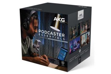 AKG Podcast Bundle Available In UK