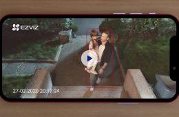 EZVIZ Outdoor AI Camera Features Colour Night Vision