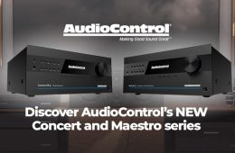 AudioControl Concert Series Available From Invision