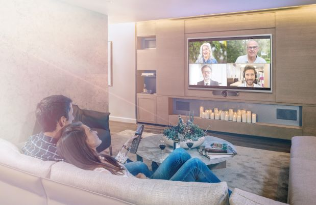 Crestron Introduces HomeTime Conferencing For The Smart Home