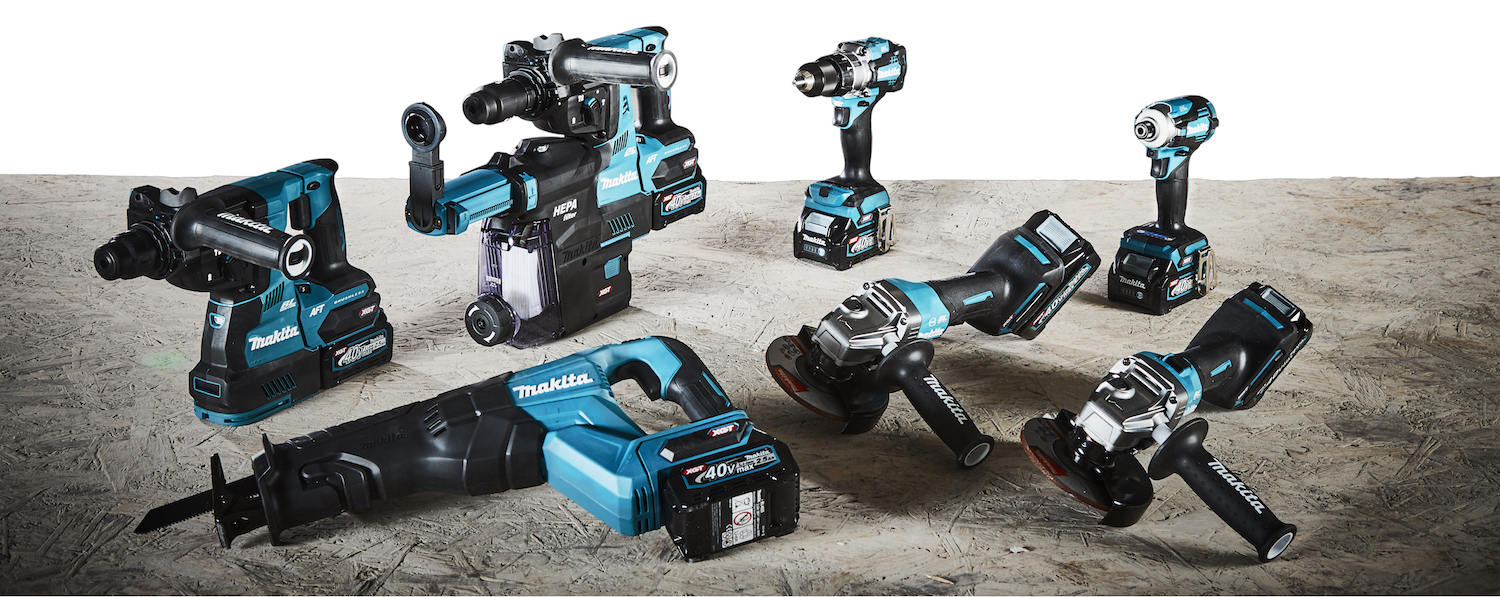 Makita's 40V Line Up Gives Installers The Power