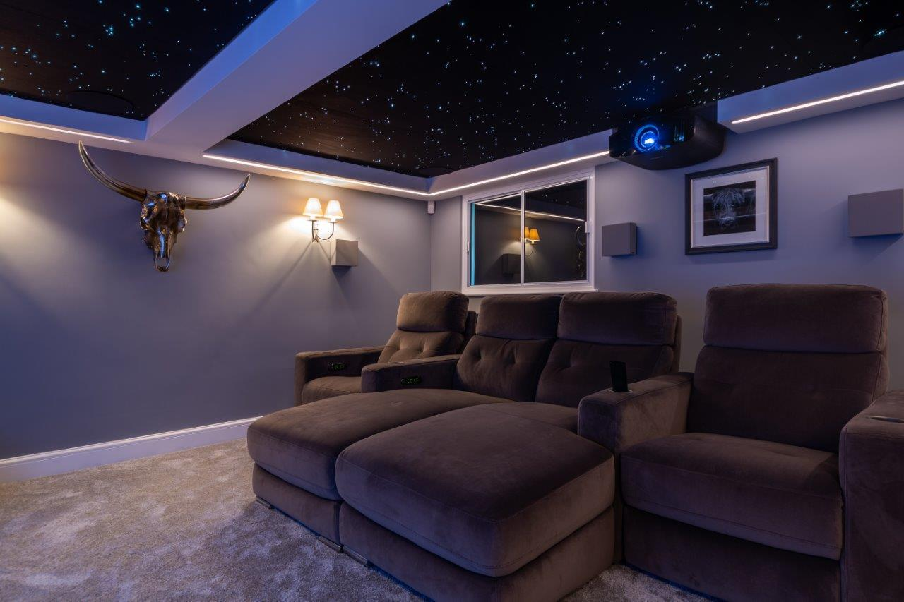 Uk Garage Home Cinema Conversion Rocks