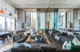 Nearly Invisible Control4 System Completes Luxury Penthouse
